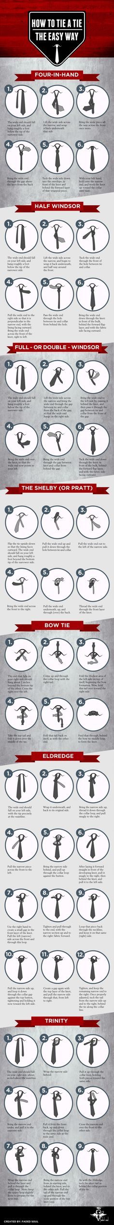 7 Alternative, Easy Ways To Tie A Tie That You Need To Learn