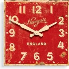 Need this red clock!