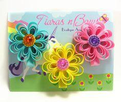 Easter Hair Clips / Hair Clippies Hair Bows / Set by tiarasnbows, $7.00