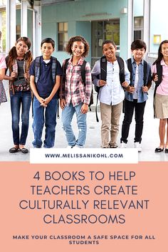 Your job as a teacher is to make sure your classroom is a safe space.   We all have biases, but we should be aware of them and make sure we are not using our biases as weapons in the classroom.  All teachers should strive to have cultural relevant or cultural responsive classrooms. These books will help you make better decisions in the classroom.  #culturerelevantteaching #cultureresponsiveteaching #diverseclassrooms