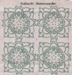 As Receitas de Crochê: Blusa de croche de squares