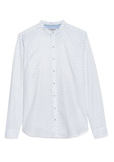 Chemise montlimart blanc micro motifs. Montlimart    Marque cool-chic pour  Homme 3f3a0c15488