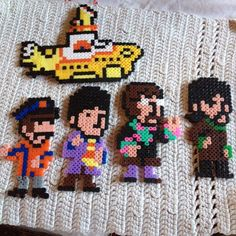 Yellow Submarine - The Beatles hama beads by miimmii95