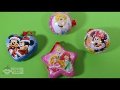 DISNEY PRINCESS and Mickey Mouse CHRISTMAS Surprise Ornaments – 3S