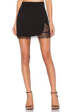 d96f6dade4 NBD x REVOLVE Breakaway Skirt in Black Go Shopping