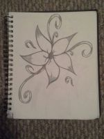 Flower.  looked up a pic and drew it for fun.