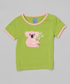 Loving this Meadow Koala Tee - Infant & Toddler on #zulily! #zulilyfinds