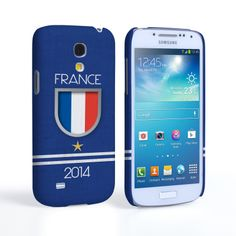 Caseflex Samsung Galaxy S4 Mini France World Cup Case | Mobile Madhouse #Gift #Present #Samsung #Galaxy #S4Mini #SamsungS4Mini #GalaxyS4Mini #Case #Cover #HardCase #PhoneCover #WorldCup2014 #Brazil2014 #Flags #Football #France #Badge #Shirt #Star