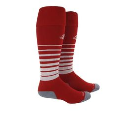 87437f3e377b Adidas Team Speed Sock (Red White)