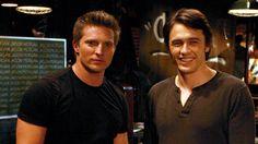 Steve Burton (Jason) & James Franco ( the evil Franco)  I love the evil Franco