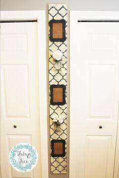 Wall Mounted Jewelry Hanger and Storage – Lulu & Lace