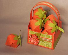 Fruit and Flowers and Berry Blossoms by Rostergold - Cards and Paper Crafts at Splitcoaststampers
