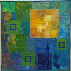 Evenwicht | Ineke van Unen - art quilts - textile art