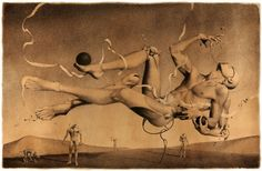 From Russia with drugs: The twisted erotic surrealism of Dmitry Vorsin | Dangerous Minds