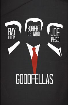 Goodfellas (1990) ~ Minimal Movie Poster by Nick Higgins #amusementphile