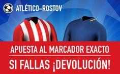 el forero jrvm y todos los bonos de deportes: Promocion sportium Atletico Madrid vs Rostov champ...