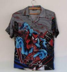 camisa spider man