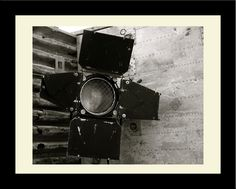 Lights, Camera Reflector Framed Photographic Print