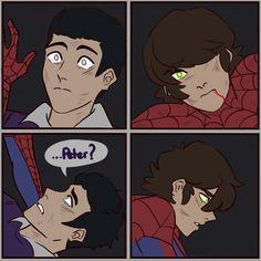 Harry Spiderman, Spiderman Serie, Amazing Spiderman, Marvel Funny, Marvel Memes, Funny Comics, Marvel Avengers, Spider Verse, Spider Art