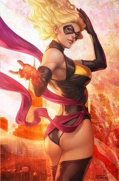 Ms Marvel by `Artgerm on deviantART