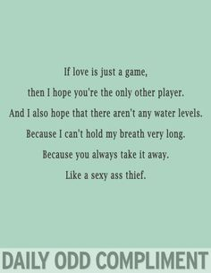 Image result for daily odd compliment love