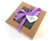 Purple Succulent Gift Box-Mother's Day by SucculentsAndMore1