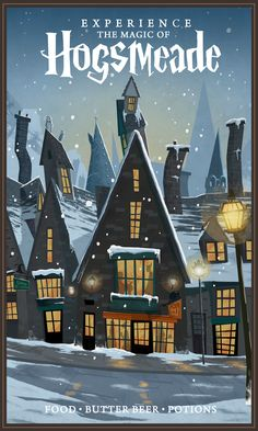 Experience the Magic of Hogsmeade - Nicolas Rix