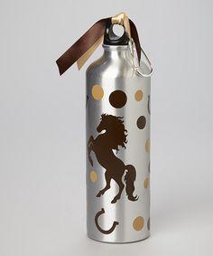 Love this Black Horse 25-Oz. Water Bottle on #zulily! #zulilyfinds