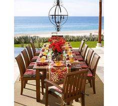 Chatham Extra Long Rectangular Extending Dining Table For The Home Pinterest Pottery Barn And