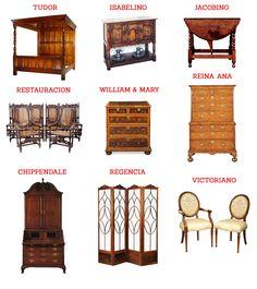 Mejores 46 im genes de muebles ingleses en pinterest antique furniture vintage furniture y - Muebles ingleses antiguos ...
