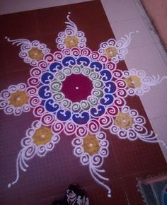 Check out this rangoli design 2016 collection. These rangoli designs are mind-blowing, create it in your courtyard, pooja room or at entrance of the house.