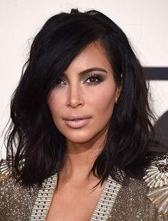 Le carré long de Kim Kardashian
