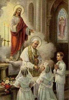 Registro P.Comunión. S.Pío X