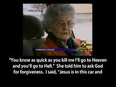 92 year old Pauline Jacoby's testimony about what happen when a thief jumped into her car and attempted to rob her.  <3