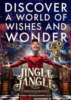 La Navidad mágica de los Jangle Completa Online Netflix November, November 13, Top Christmas Movies, Hugh Bonneville, Michael Key, Phylicia Rashad, Forest Whitaker, Free Tv Shows, 2020 Movies
