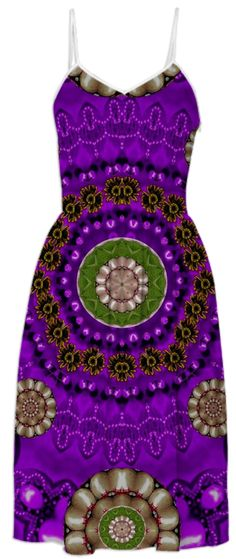 Floral Fantasy In purple from Print All Over Me