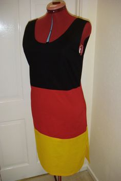 I made this dress to wear at the London Olympics in 2012. It was a lot of fun to wear.