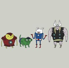 Adventure Time & Angry Birds Avengers Created... | InsanelyGaming