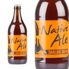 A brown ale, rusty with plenty of spicy hops and a crisp finish. Well balanced, this is a fruity beer that pairs well with everything from crispy fish and chips to spicy curry. Darling Brew Native Ale - League of Beers Fish And Chips, Oclock, Craft Beer, Nativity, Crisp, Brewing, Ale, Spicy, Curry