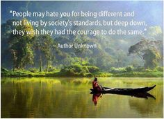 Think it's more so that they just don't understand and are living life from a different place :)