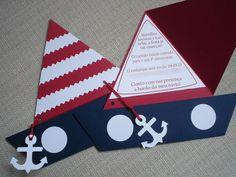 Marine Baby Shower Inspiration tarjetas invitación