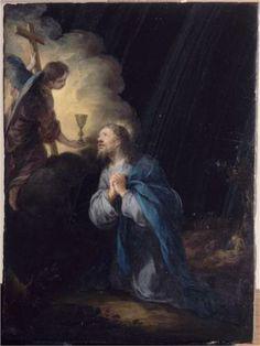 Christ In The Garden Of Olives - Bartolome Esteban Murillo
