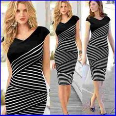 vestido feminino black white alta moda