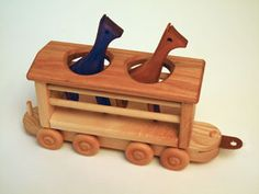 ordering up this adorable handmade wooden train - having a hard time just picking a few! he's going to love it!