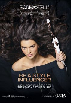 Styling Tools, Kendall Jenner, House Styles, Beauty, Beauty Illustration