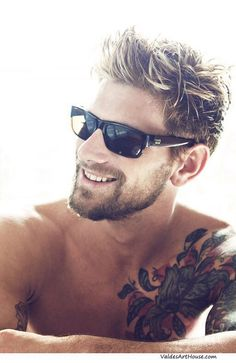 Coif! Mens Hair Style Trends Beard Tattoos