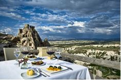 Argos In Cappadocia Uchisar Once a monastery, the award-winning Argos offers individually appointed rooms spread over several natural stone buildings. Each room offers free Wi-Fi. Some have breathtaking views of Pigeon Valley or private outdoor area.