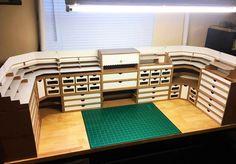 Hobbyzone workstation for crafts, art & models