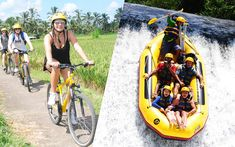 Bali cycling and Bali rafting is combination tour package to enjoy the beauty of Bali's island countryside and feel the wonderful adventure of the river in Bali.  #balirafting #balicycling #baliraftingandbalicycling