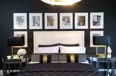 layout of picture frames on wall - Google Search